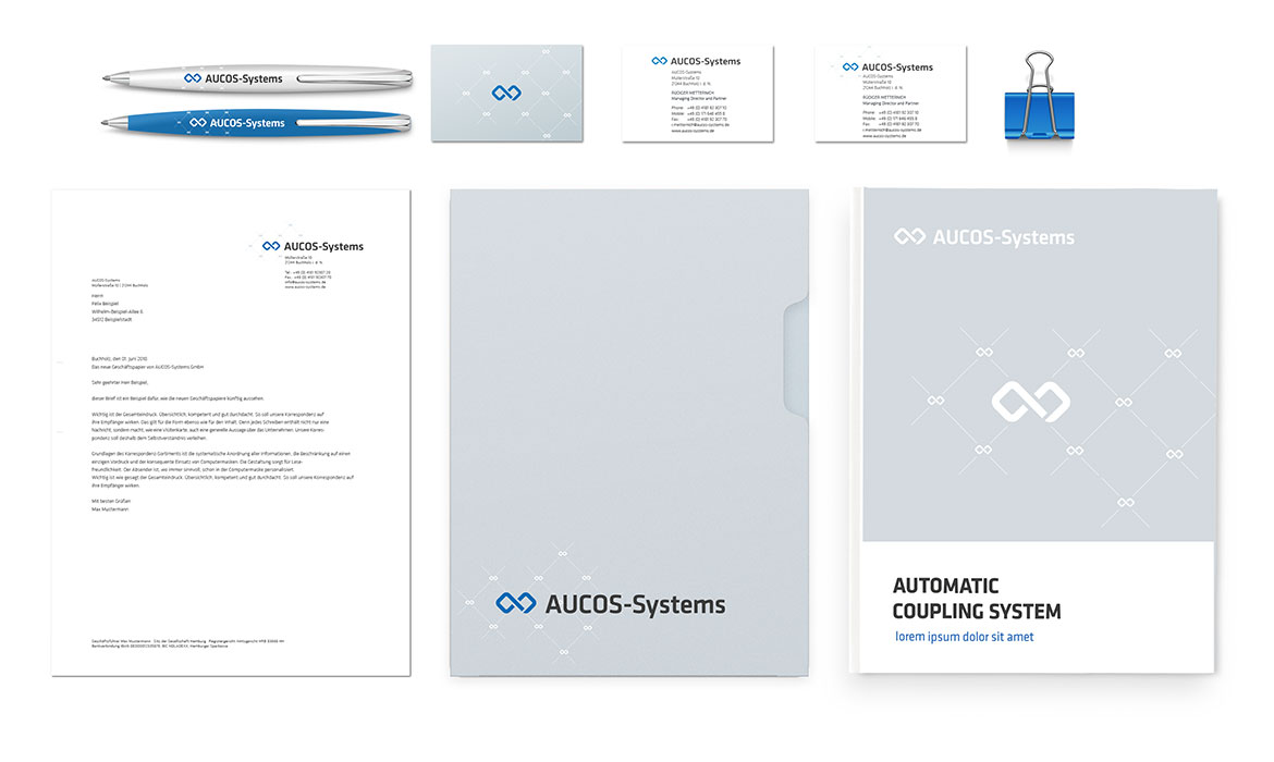AUCOS System Corporate design Jungle Graphic