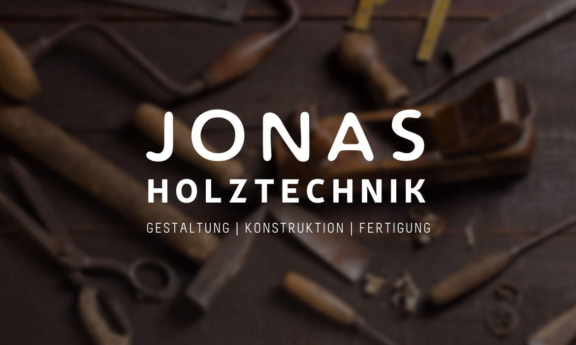 JONAS HOLZTECHNIK Logo Design Jungle Graphic